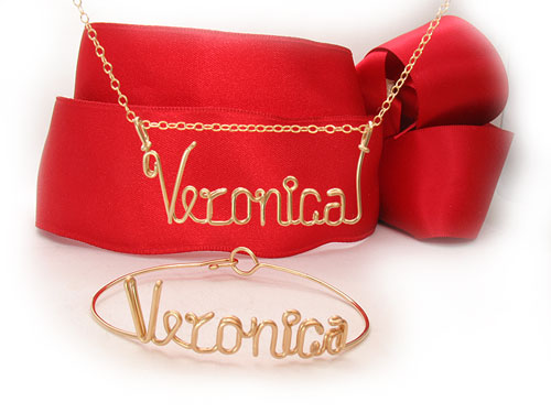 Veronica Bracelet Gold Wire