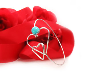 Double-Two-Hearts-Bracelet-Bangle