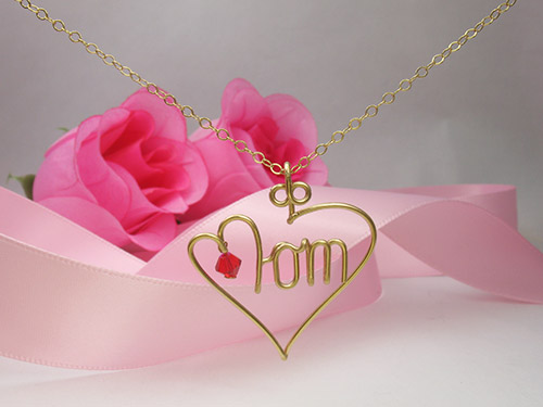 Personalized necklace, bracelet, choker -  Wire Jewelry