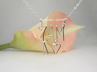 Initials Pendant