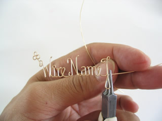 wire jewelry demonstration